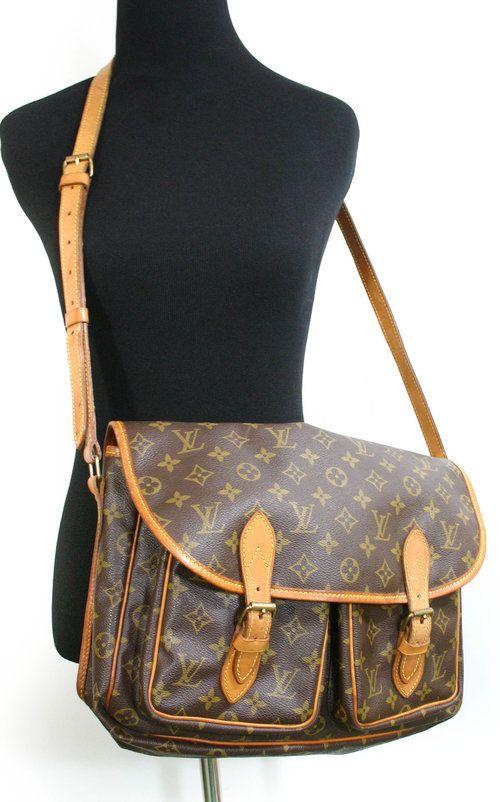 Vintage Louis Vuitton Monogram Sac Gibeciere (Messenger Bag) - $480