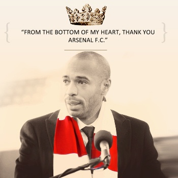 Thierry Henri, best player ever. What an Arsenal legend!!