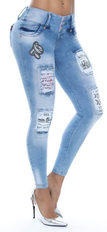 Jeans levanta cola LUJURIA 78704