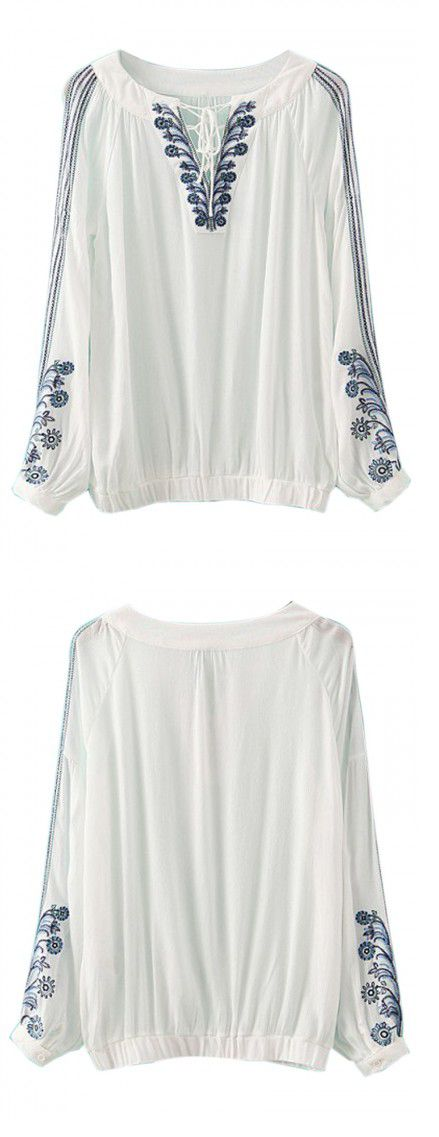 Cool !So nice white blouse! you can have the same item from choies.com...