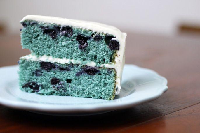 Blueberry Velvet Cake with Cream Cheese Frosting: Cream Cheese Frostings, Frostings Recipes, Blueberries Cakes, Cakes Recipes, Cream Chee Frostings, Blue Velvet Cakes, Birthday Cakes, Blueberries Velvet, Cream Cheeses