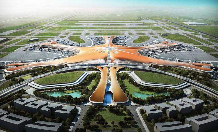 Beijing New International Airport, Beijing, China, by Zaha Hadid Architects