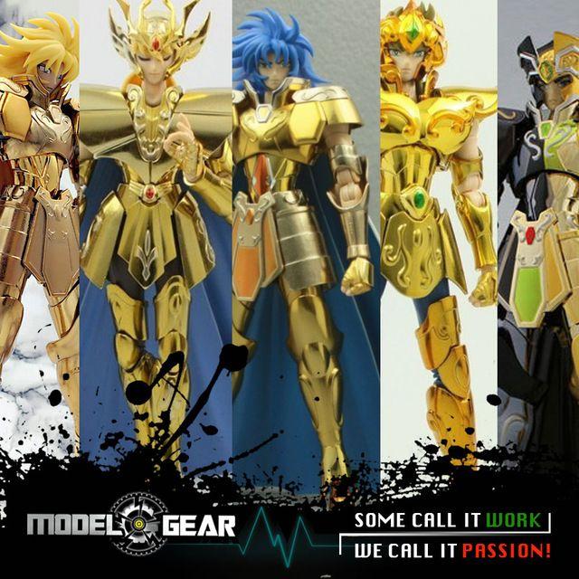 S-Templo de Metal Club MetalClub MC modelo ST Leo Aioria Gemini Saga Virgo Shaka Saint Seiya Myth Cloth Ex2.0 Oro armadura de metal de Juguete