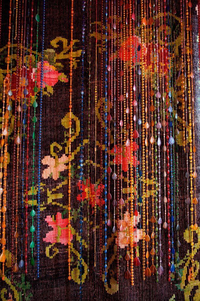 Romantic beaded curtain... | Bohemian Gypsy | Pinterest
