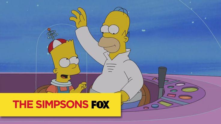 Freunde, bestimmt kennt ihr noch die Jetsons? Hier trifft das Zeitalter der Jetsons auf die Simpsons fast Futurama