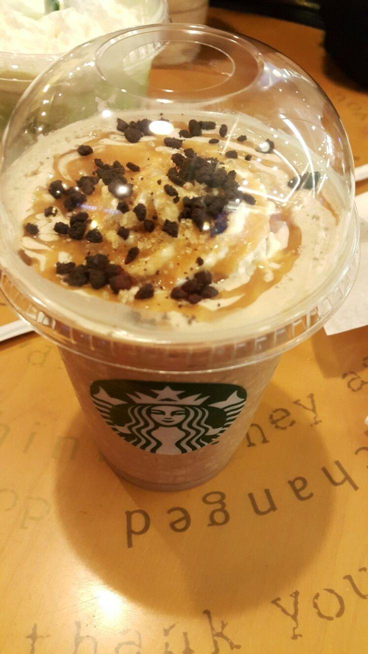 Salted Caramel Mocha Crumble Starbucks