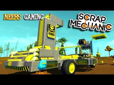 Scrap Mechanic Mega Catapult - YouTube