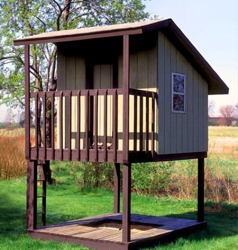 Free Standing Tree House Plans R14 1837 Tree Houses Hunting Blinds Forts Pinterest Tree