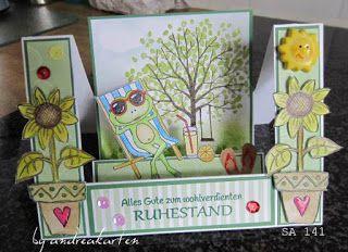 Andrea's Karten: zum Ruhestand