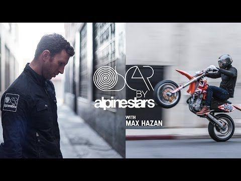 Oscar by Alpinestars with Max Hazan - YouTube
