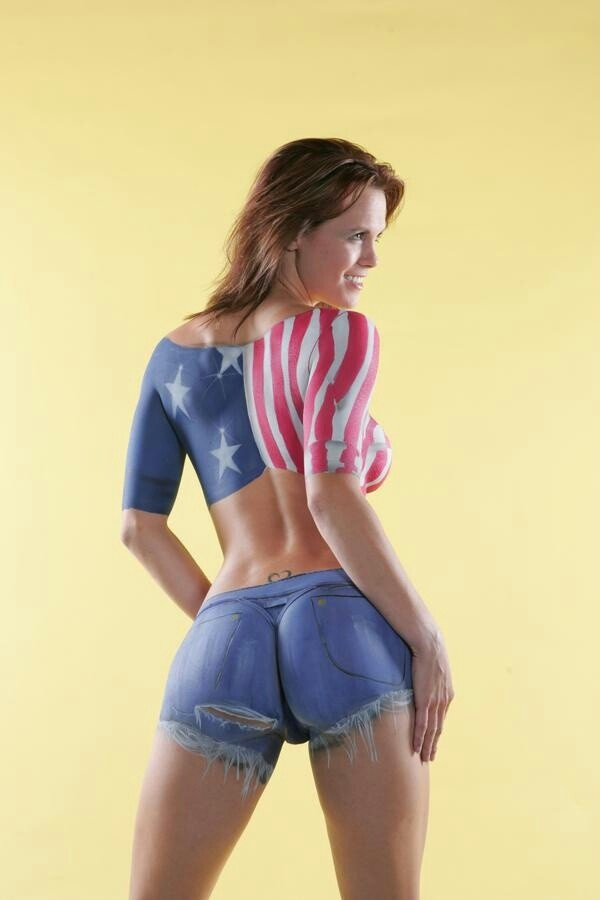 body paint i 39 m proud to be an american pinterest body paint bodies and amazing art. Black Bedroom Furniture Sets. Home Design Ideas