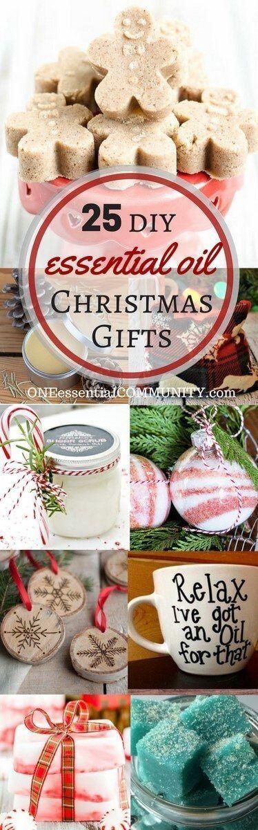 25+ einfache hausgemachte ätherische Öle Geschenke für Weihnachten, #ätherische #einfache #fü…