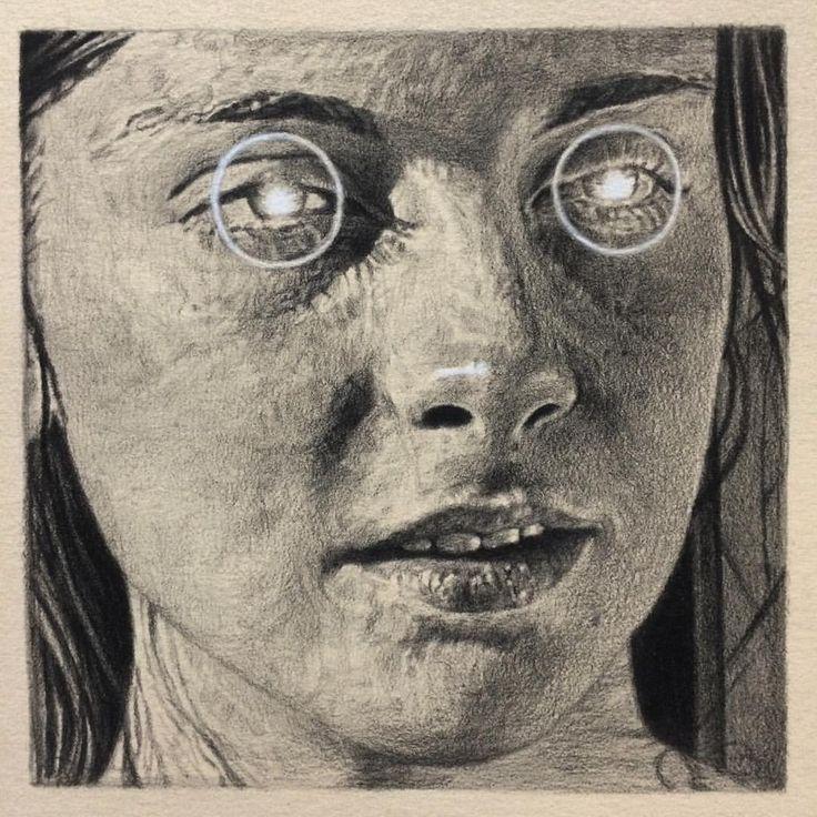 Los sombríos y delicados dibujos de C3, Christopher Charles Curtis, dignos de tus peores pesadillas.
