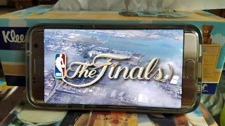 Here's an easy way to watch the NBA Finals Game 5 or 6 LIVE online on your Android. Watch the Warriors vs. Cavaliers! (Also works on iOS iPhone, PC, Mac)  Step-by-Step Tutorial Here:  http://highonandroid.com/android-howtos/how-to-watch-nba-finals-game-5-live-online-on-android-warriors-vs-cavaliers/  UPDATE: For higher resolution, you can go to http://espn.go.com/watchespn on your computer and sign in to watch in much higher resolution!  ------------------------------------------  My Korean…