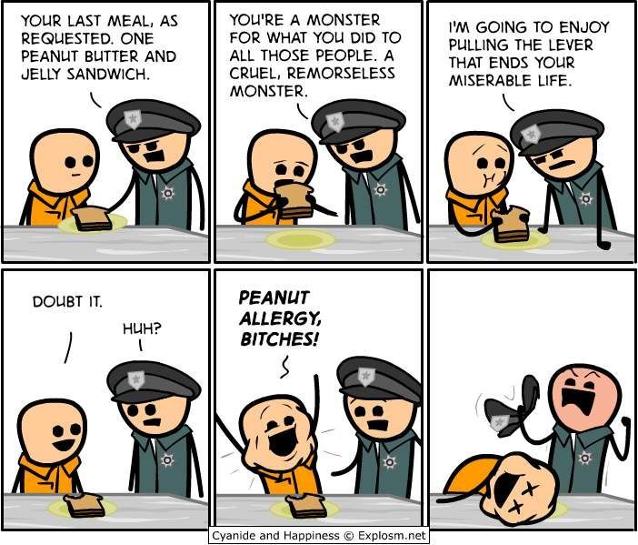 Last Meal Cyanide and Happiness