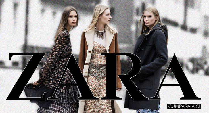 In colectia ZARA de pe site am adaugat inca 300 de modele noi, potrivite acestui sezon! Vino la Kurtmann.ro si alege cele mai iubite piese pentru garderoba ta:
