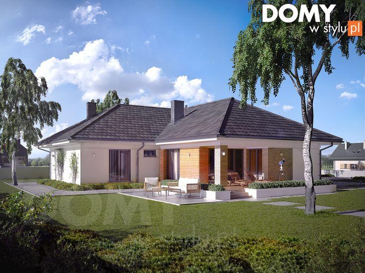 Projekt domu Ambrozja 11  (137 m2). Pełna prezentacja projektu dostępna jest na stronie: https://www.domywstylu.pl/projekt-domu-ambrozja_11.php. #ambrozja #domywstylu #mtmstyl #projekty #projektygotowe #domynowoczesne #projekt parterowy #domparterowy #dom #domy #projekt #projektydomów #projektydomow #budowadomu #budujemydom #design #newdesign #moderndesign #home #houses