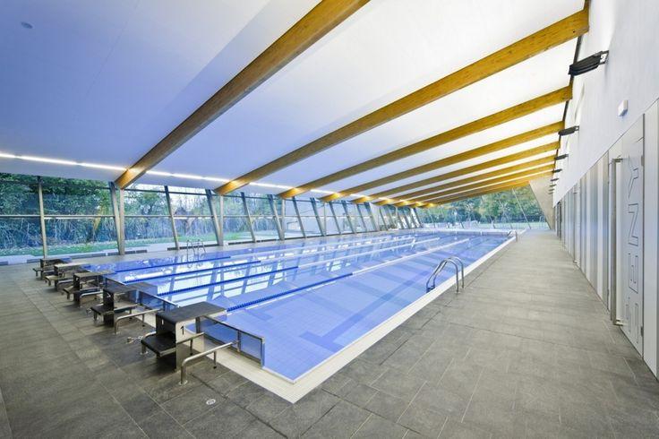 Piscina Olímpica coberta em Litomyšl / Architekti DRNH
