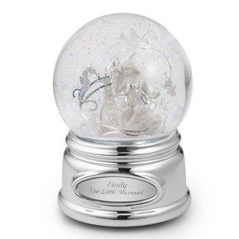16 best snowglobe images on pinterest water balloons water mermaid water globe at things remembered negle Choice Image