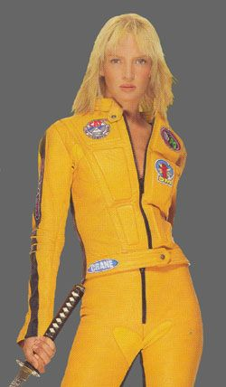 The Bride, Kill Bill Volume One jacket