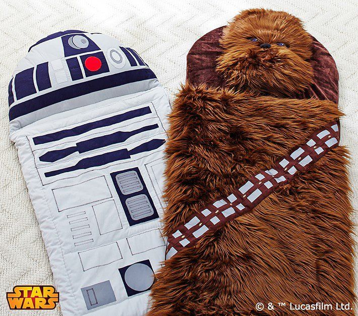 Pin for Later: Star Wars Gear (in Time For the New Movie!) That Your Little Jedi Will Love This Holiday Star Wars Sleeping Bag Star Wars Sleeping Bag ($129+)