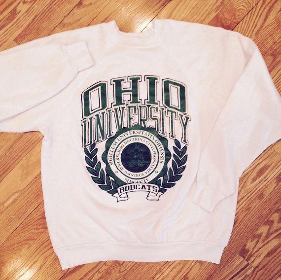 Vintage Ohio University school seal crewneck sweatshirt by Union17