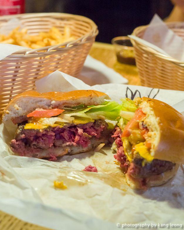 Tommi's burger's, Bond Street Tube