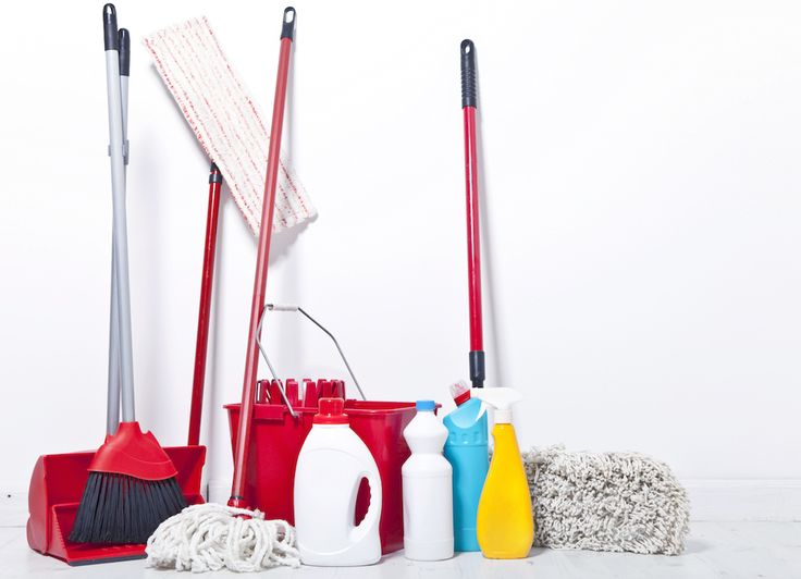 'Apartment Knowledge: Cleaning Tools You'll Need...!' (via Apartment Guide)