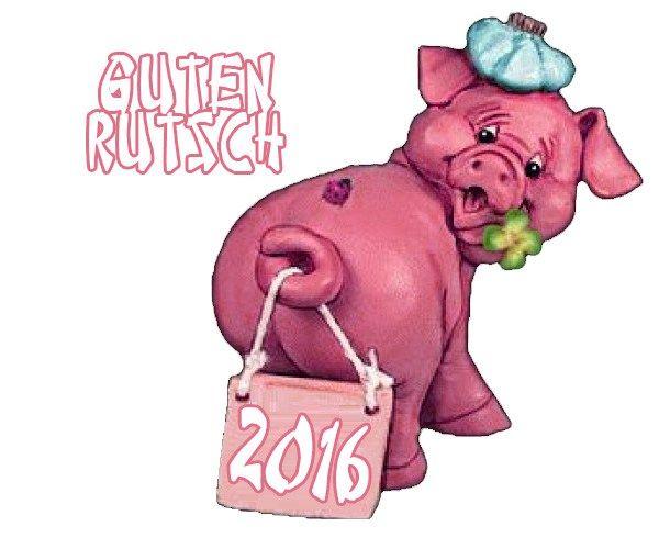 Guten Rutsch WhatsApp lustige Bilder für handy (Silvester 2016)