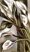 Arums (1) 1931  by Tamara de Lempicka (inspired by)