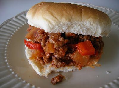 Ground Turkey Sloppy Joe's (Rachael Ray Style) #Recipes #Maindish #sandwich
