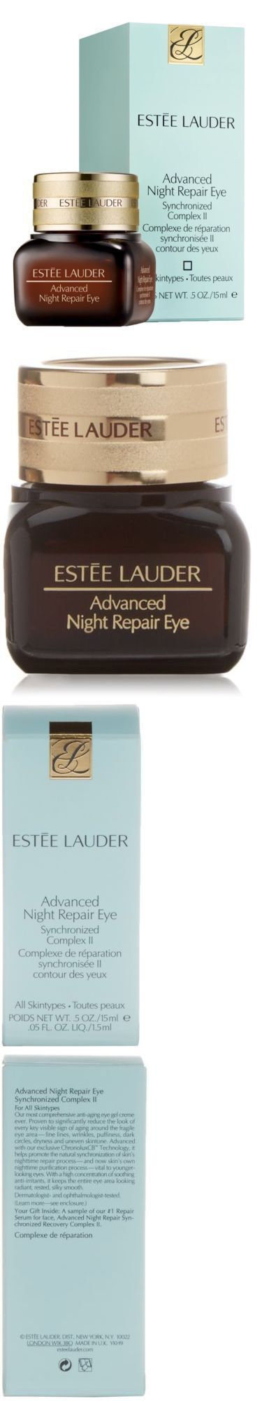 Eye Treatments and Masks: Estee Lauder Advanced Night Repair Eye Cream Synchronized Complex Ii, 0.5 Ounce -> BUY IT NOW ONLY: $121.95 on eBay!