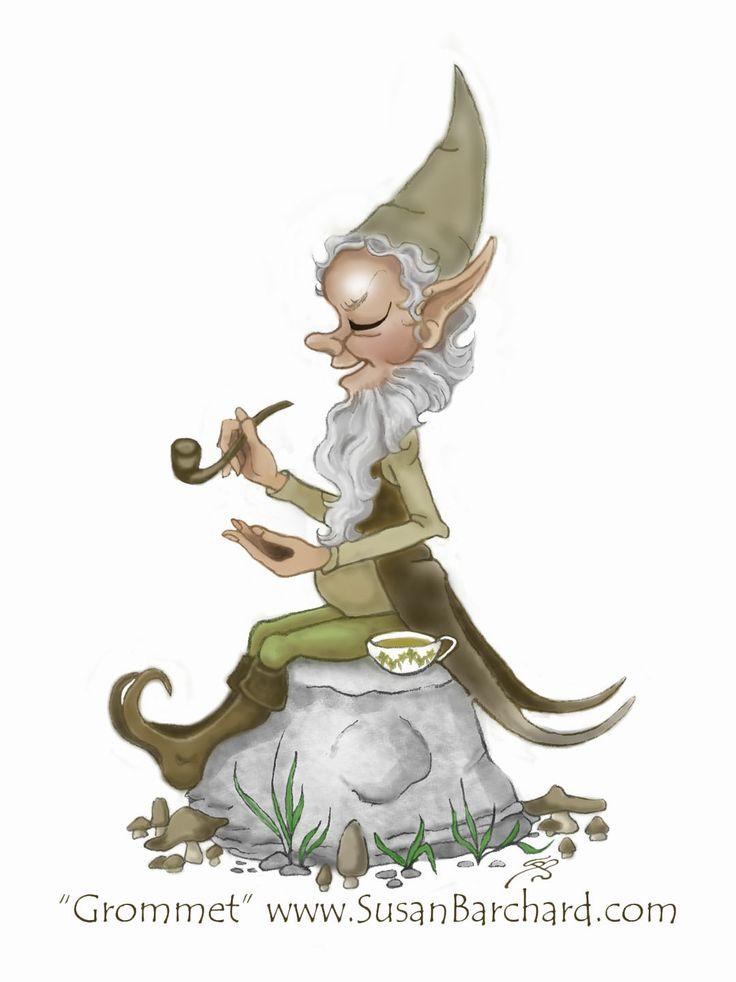 Gnome Clip Art: CLIPART Images On Pinterest