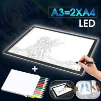 Package Included: 1 x A3 LED Tracing Board Drawing Light Box Art Craft Paint Pad 1 x USB Power Cable