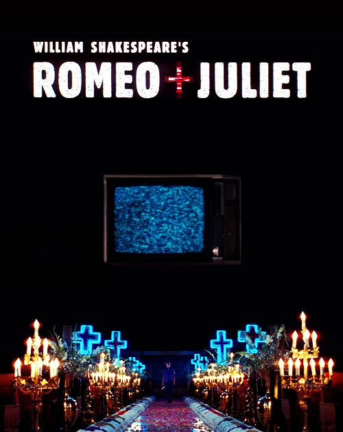 music in baz luhrmanns version of shakespeares romeo and juliet The opening sequence of 20th centruy fox's romeo + juliet  roméo + juliet »  de baz luhrmann (1996) 03:40 romeo juliet dandanakka video song.