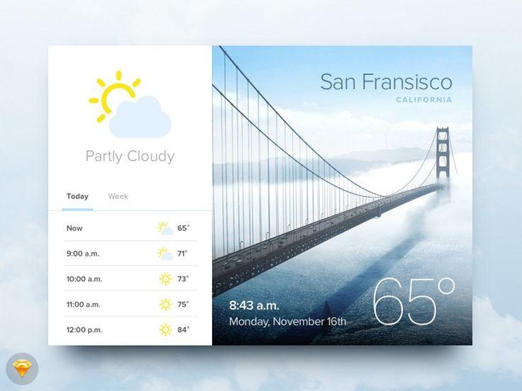 Weather Widget UI - http://freebiesjedi.com/2015/12/weather-widget-ui/