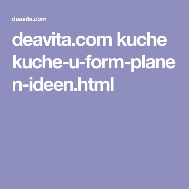 Deavita.com Kuche Kuche U Form Planen Ideen.html