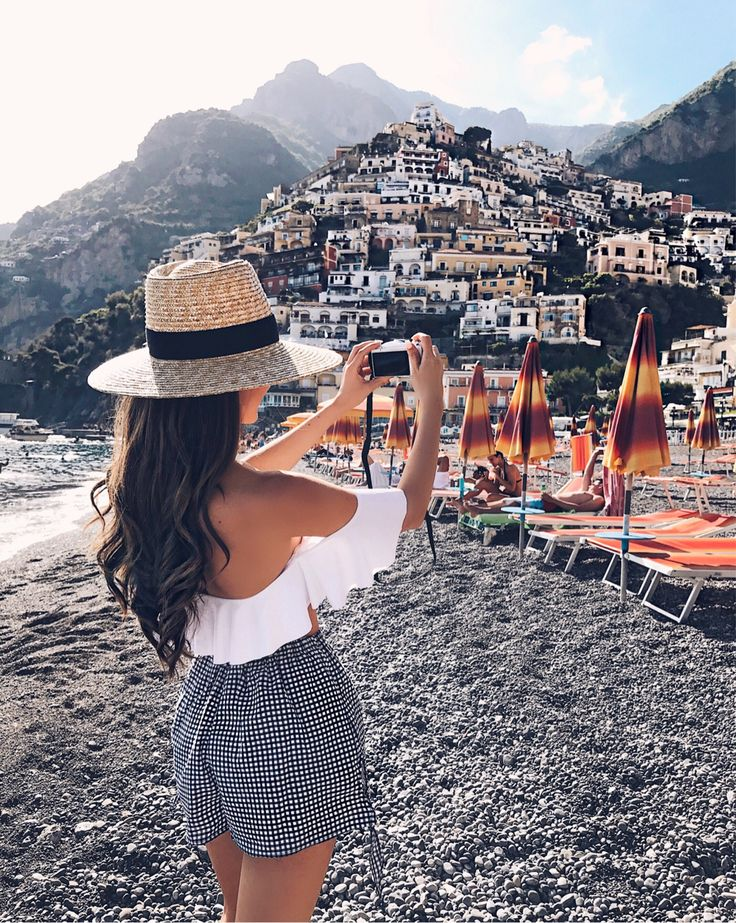 perfect Italian beach babe