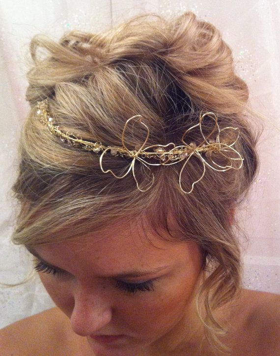 how make a hair style best 25 wire crown ideas on diy tiara how to 3678 | 977b3678eda16d1a888b71cb66978e38 flower girl hair butterfly hair