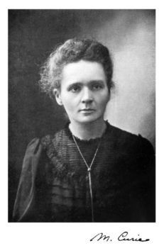 Marie Curie - Physicist & chemist; winner of 2 Nobel Prizes in 2 different areas. First woman professor at the University of Paris. Famous for the theory of radioactivity and the discovery of polonium and radium.