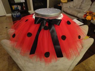 So I Saw This Tutorial ...: Lovely Ladybug Tutu Costume