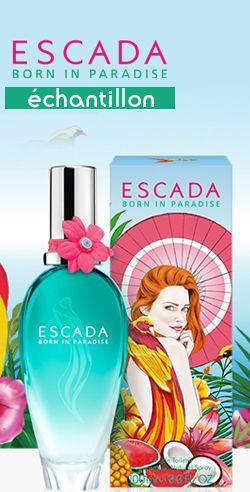 Échantillon de fragrance Escada