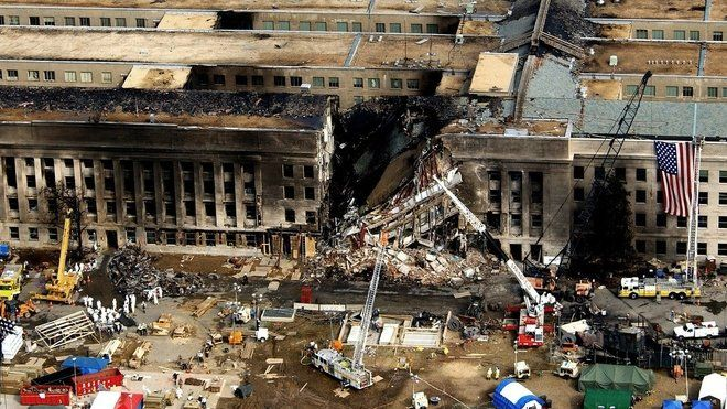 Washington – Na webu amerického Federálního úřadu pro vyšetřování (FBI) se znovu objevily asi tři desítky fotek dokumentujících teroristický útok na Pentagon v září 2001.