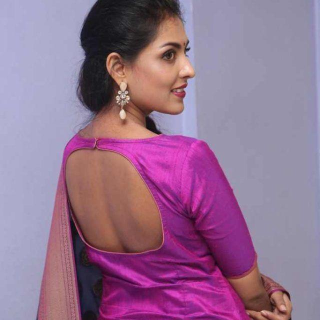 Madhu Shalini Photos in Violet Punjabi Dress #Madhu #Shalini #Photos #Violet #Punjabi #Dress