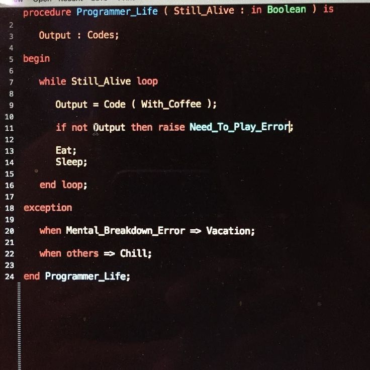 When programmer writes a poem in a programming language...    #geek #nerd #programmer #life #poem #poetry #creative #writing #content #computer #software #development #technology #computer #programming #language #ada  #fun #relax #holiday