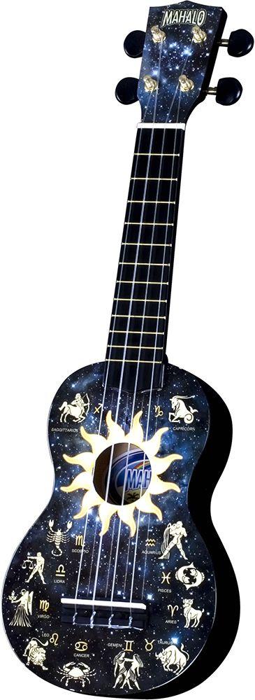 Mahalo U30G Soprano Ukulele - Art Constellation for sale at Low ...