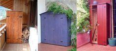 Armadi per esterno in legno colorati! - questi sono da colorare e si acquistano on line @ onlywood - vari modelli e colori - prezzi accessibili