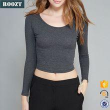 Long sleeve Cotton Blouse Women Tshirt Design Cheap Custom T Shirts   Best Buy follow this link http://shopingayo.space