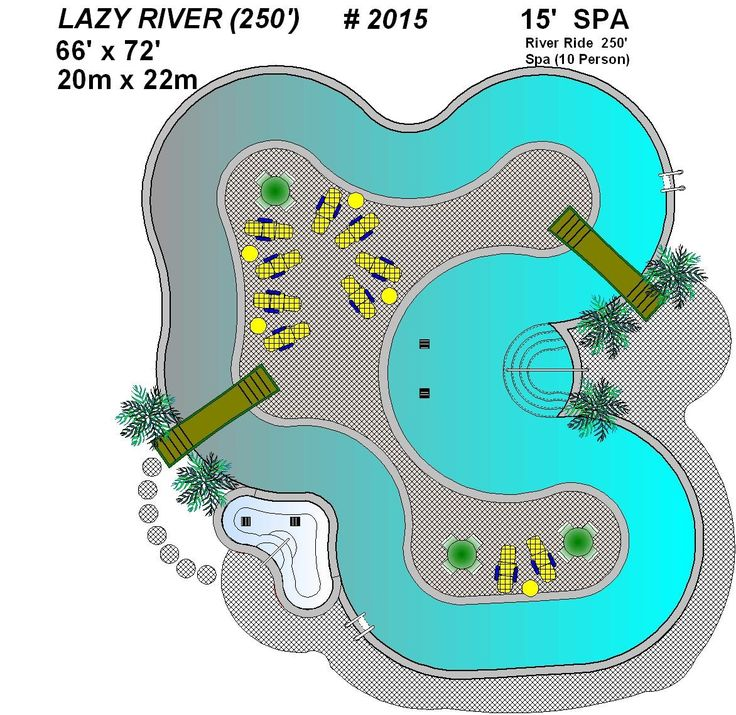 Nice 2015 Lazy River Pool Plan