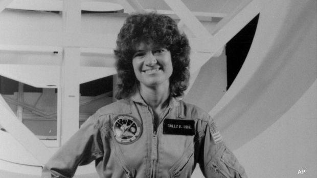 Sally Ride, a Complete Heroine